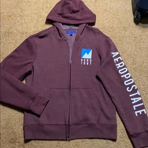 🟡3/$15 NWOT Men's Aeropostale Zip Up